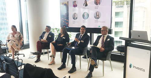 Investa co-hosts panel event with Green Building Council of Australia