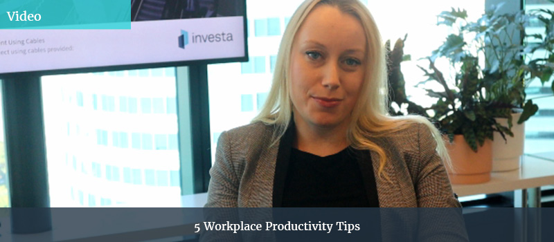 Productivity in the workplace - Amy Wild