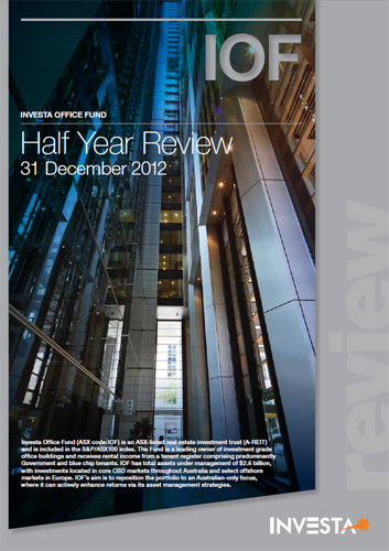IOF Half Year Review 2013